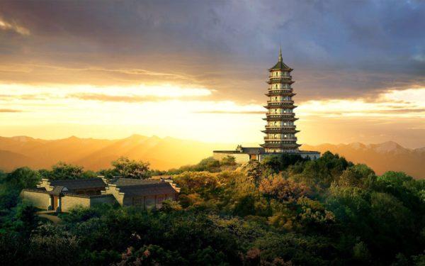 Азия, пейзаж