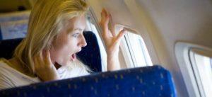 Страх полета на самолете - частое явление