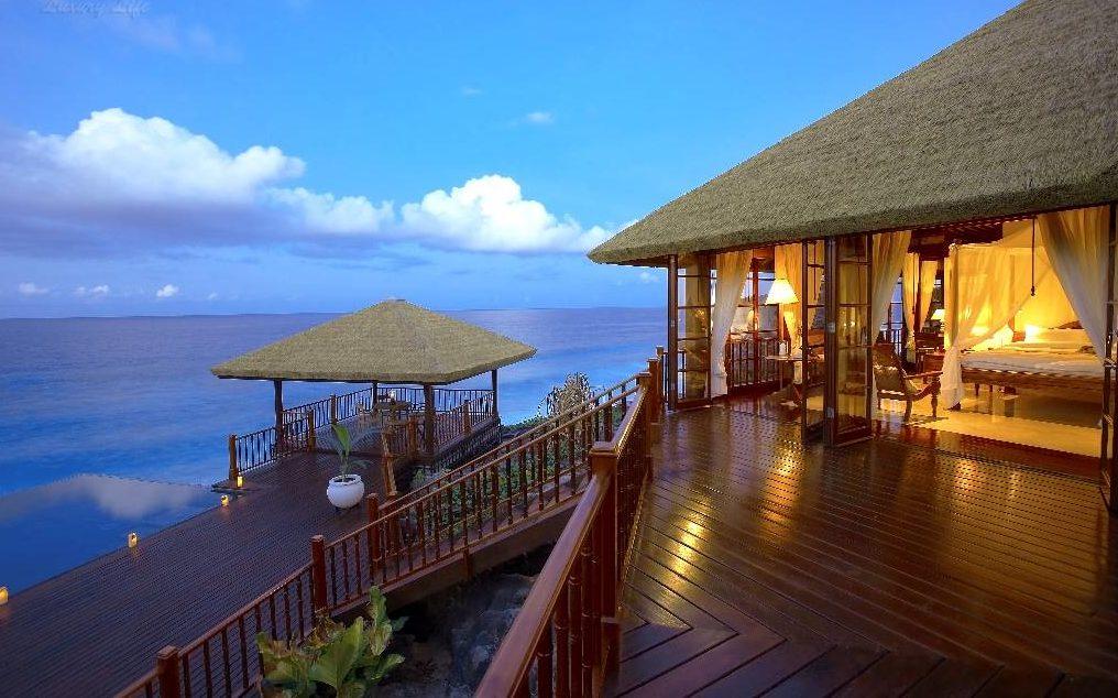 Виллы над водой, Фрегат, Сейшельские острова