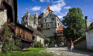 Замок Шпильберг в городе Брно, Чехия