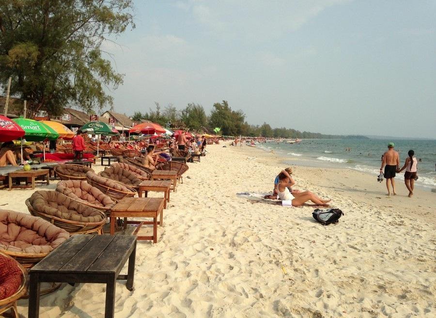 Пляж Очутел, Сиануквиль, Камбоджа