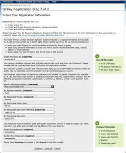 На странице step 2/2 создаете себе ID: пользователя и, генерируя контрольные вопросы и ответы на них, создаете пароль для доступа к своей л/с