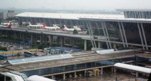 Аэропорт в Шанхае