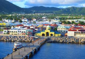 Бастер – столица Сент-Китса и Невиса