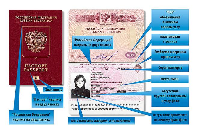 Биометрический и обычный заграничный паспорт, отличия