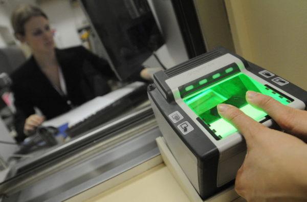 Биометрия для шенгенской визы