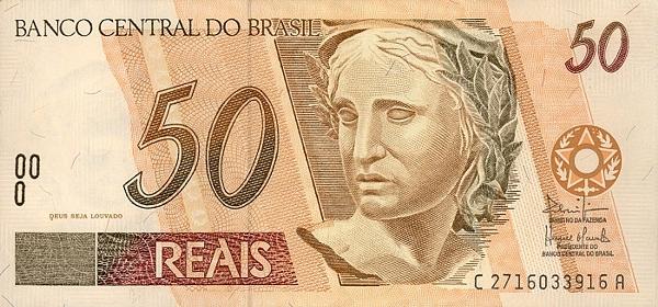 1 бразильский реал примерно 18,2 российских рубля
