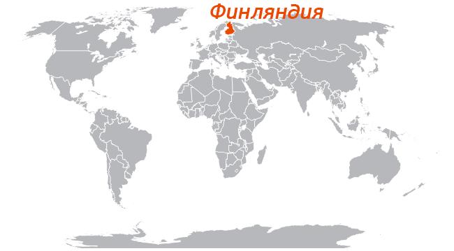 Изображение - Эмиграция в финляндию из россии Finlyandiya-na-karte-mira