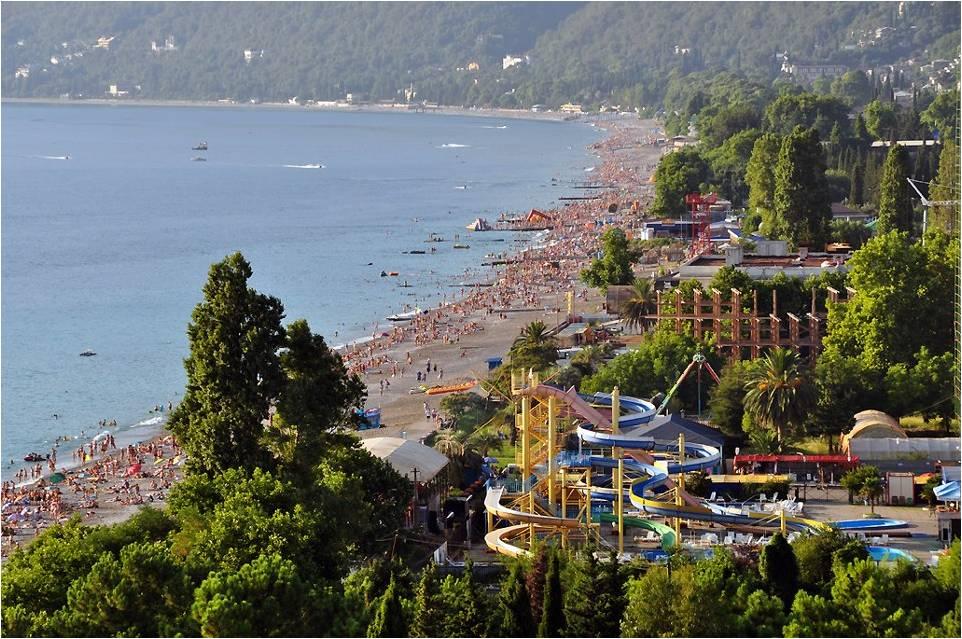 Гагра, Абхазия