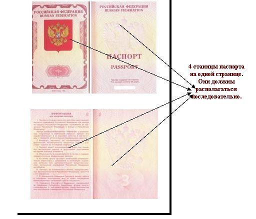Как правильно делать копию паспорта