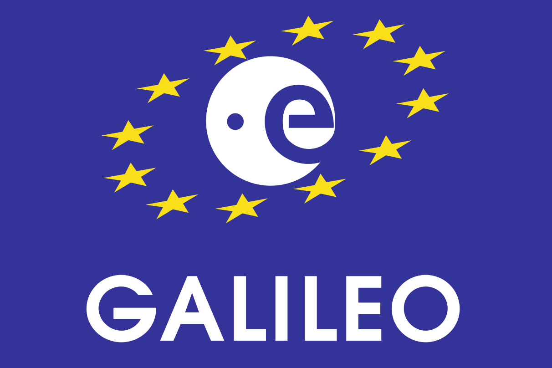 Логотип европейской навигационной системы Galileo