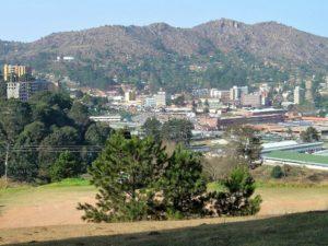 Мбабане - столица Свазиленда