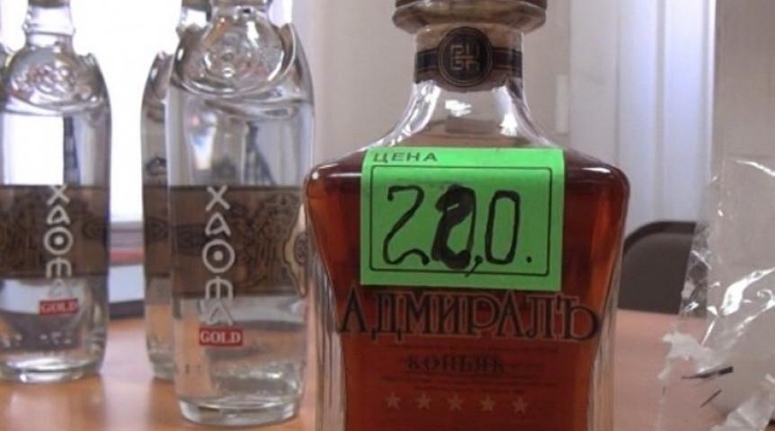 Некоторые недобросовестные граждане наживаются на контрафактных алкогольных напитках