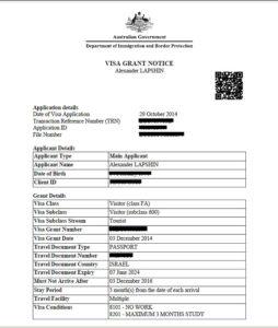Новая электронная виза в Австралию