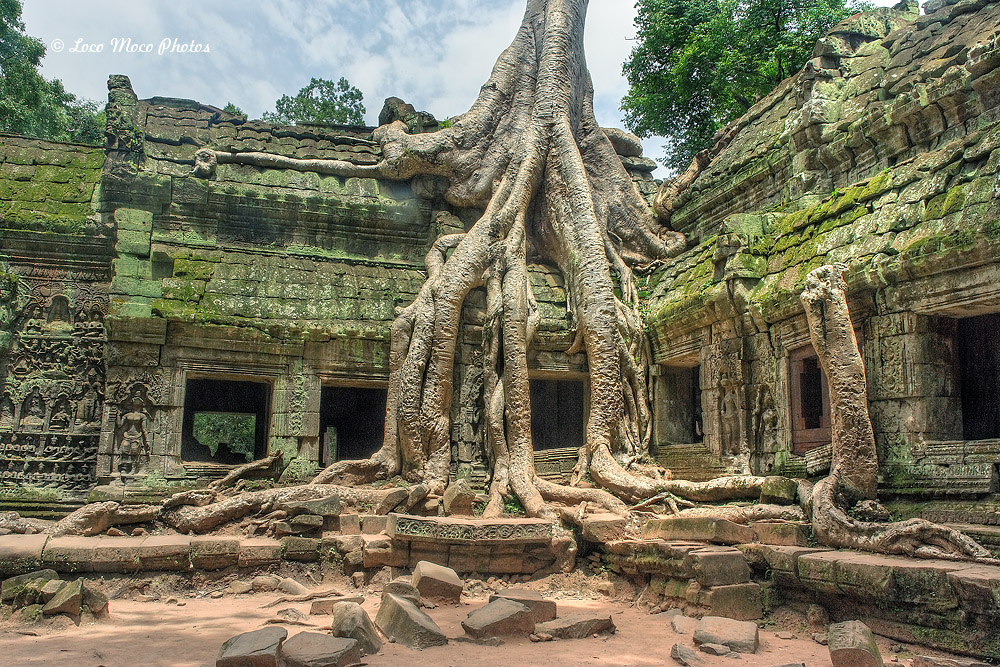 Окрестность Сиемреап - Ангкорват