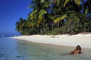 Остров Тобаго, пляж Pigeon Point