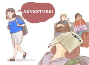Относитесь к пересадке как к небольшому путешествию