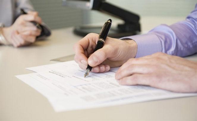 Первым делом необходимо подготовить и заполнить документы