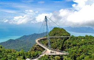 Подвесной мост, Лангкави