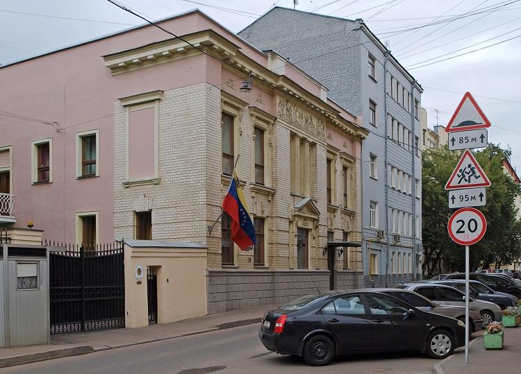 Посольство Венесуэлы в Москве. Большой Каретный пер., д. 13 стр. 3