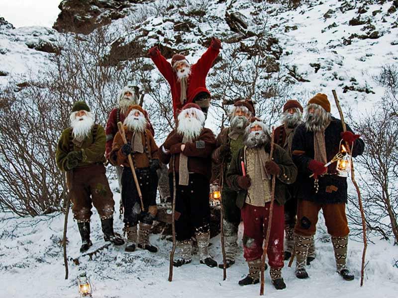 Рождество и Новый Год в Исландии