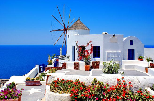 Санторини, вулканическая жемчужина Греции