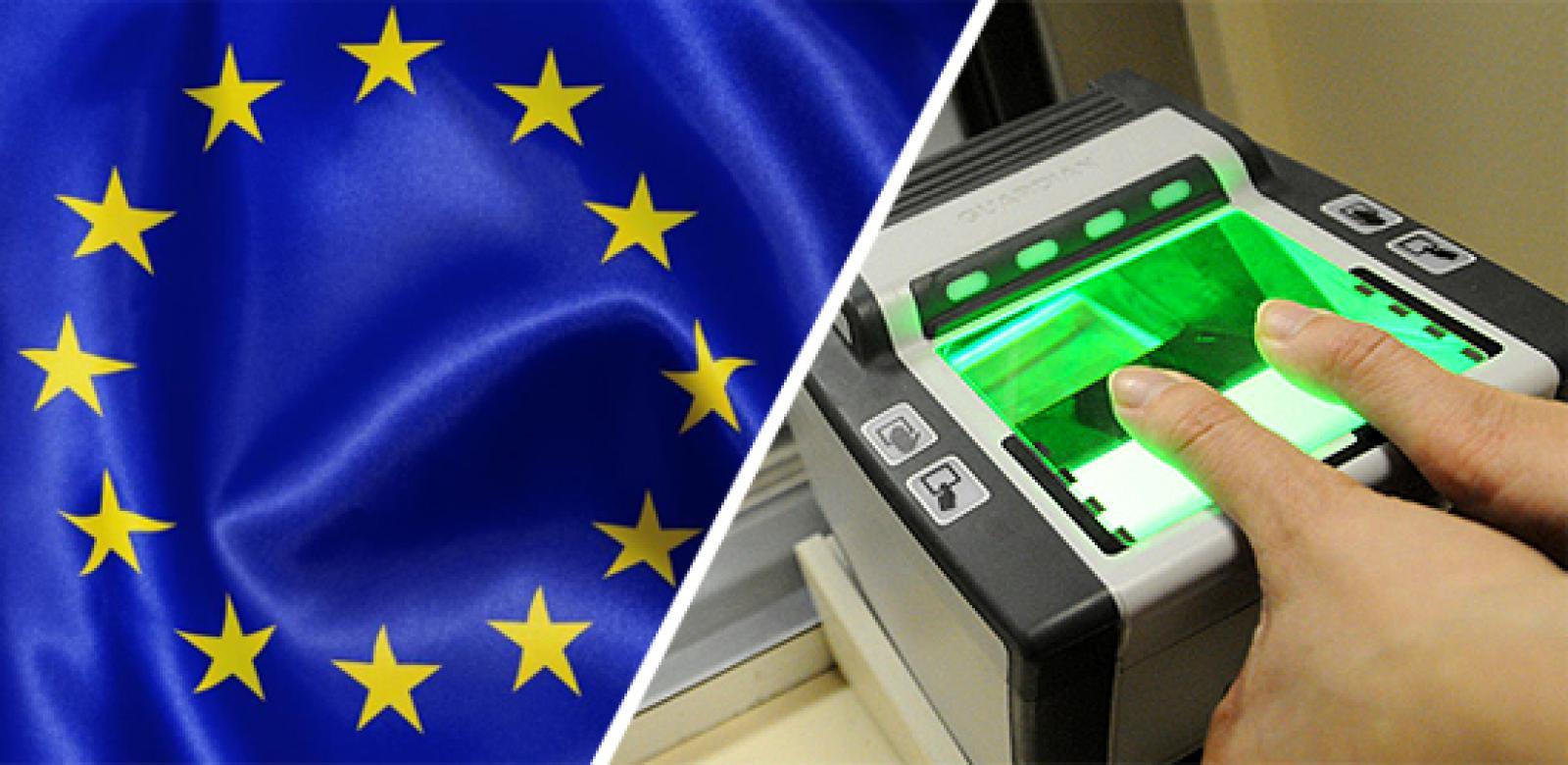 Сдача отпечатков пальцев для оформления визы в Болгарию