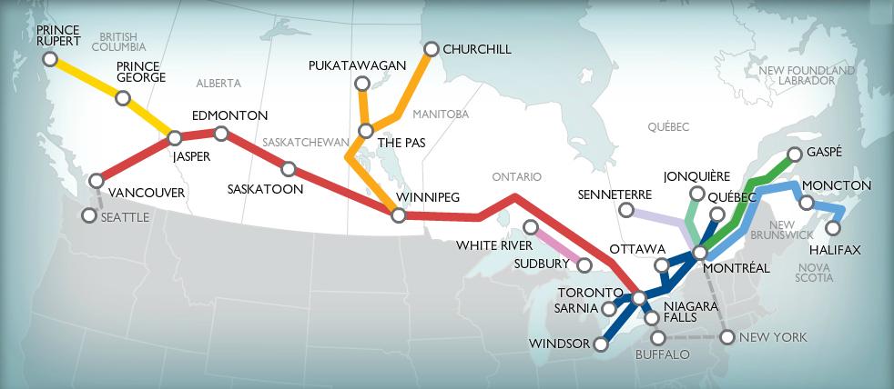 Составьте маршрут поездки по стране