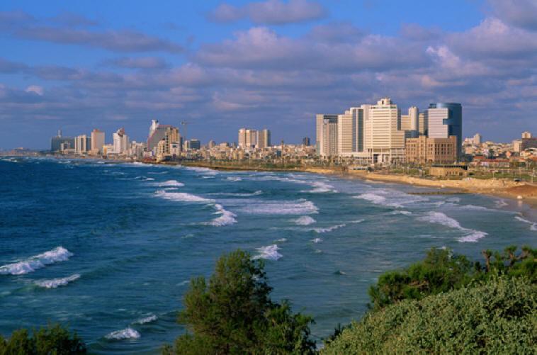 Средиземное море, Тель-Авив, Израиль