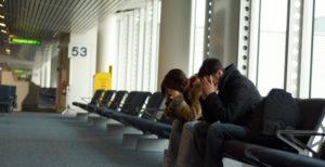 Старайтесь не опоздать на самолет