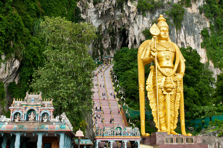 Статуя Муругана в Куала-Лумпуре