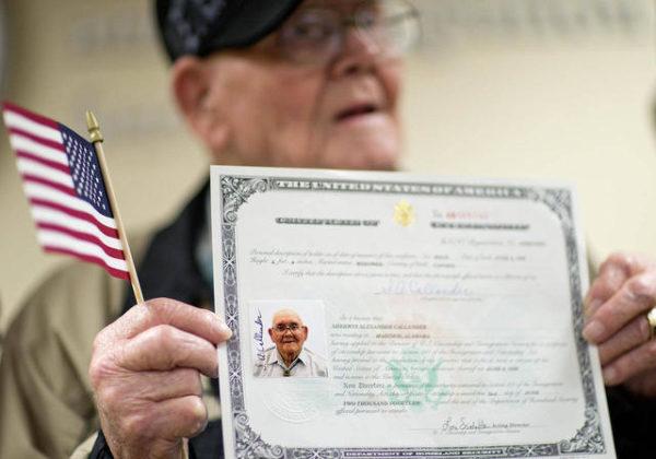 Свидетельство о гражданстве США