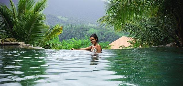 Водопад в Коста-Рике