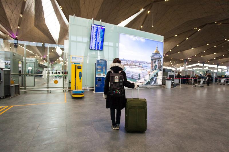 Желательно прибыть в аэропорт за 2 часа до момента вылета