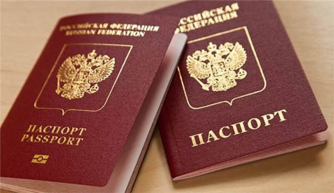 Загранпаспорт и паспорт гражданина РФ для оформления визы