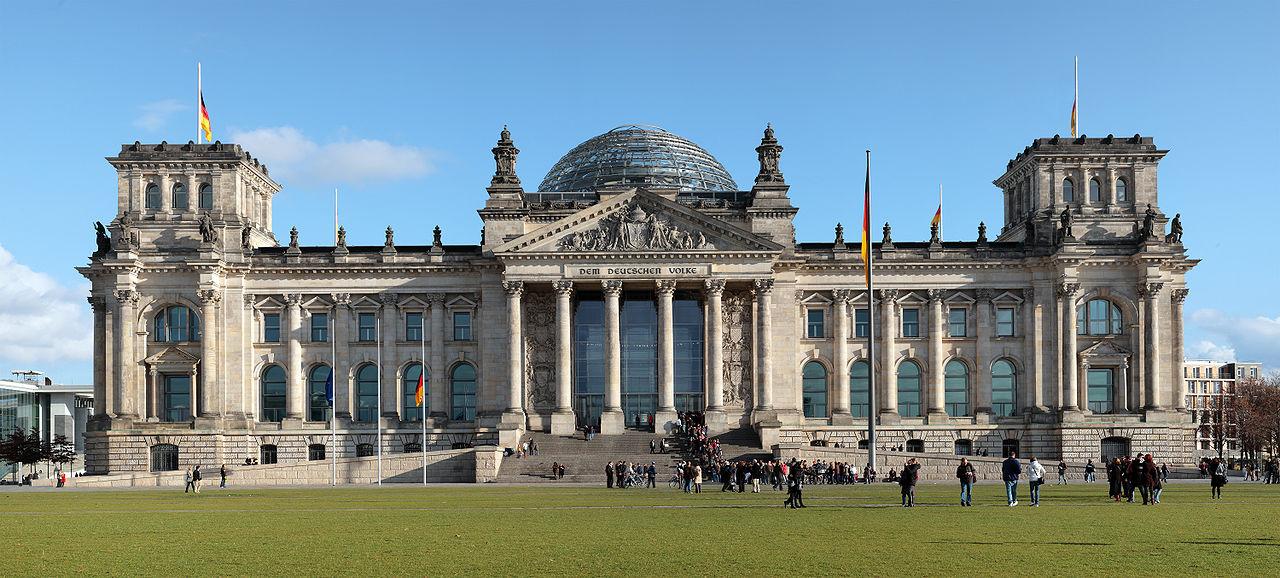 Здание Рейхстага в Берлине