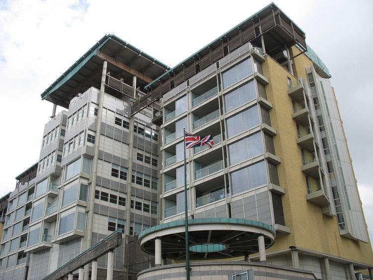 Здание посольства Великобритании