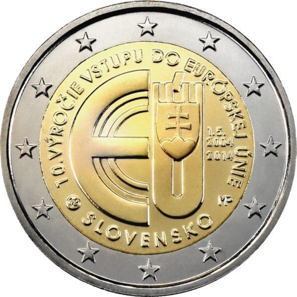Словения стала первой из стран, присоединившихся к ЕС в 2004 году, которая запустила в обращение единую европейскую валюту
