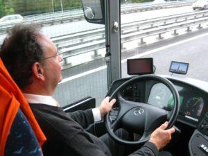 Водители транспортных средств вместимостью более 8 мест