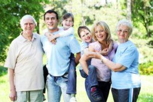Для воссоединения семьи