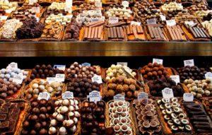 Бельгия претендует на звание ведущего производителя шоколада