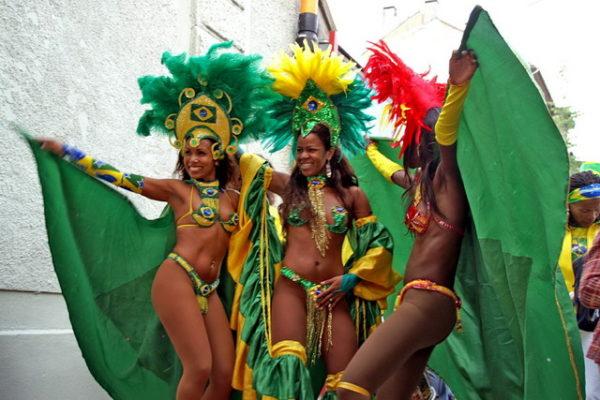 Бразилия, карнавал в Рио