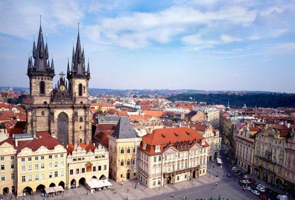 Чехия входит в число самых густонаселенных стран Европы