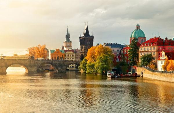 Чехия золотой осенью