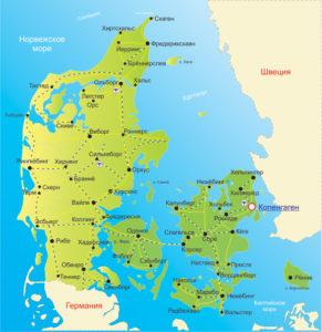 Дания - это маленькая страна, имеющая красивую природу и богатую историю