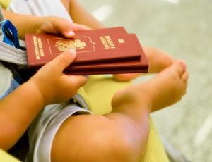 Детям оформляют собственные визы