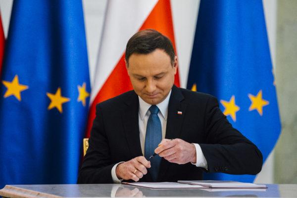 Действующий президент Польши Анджей Дуда