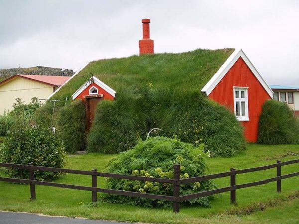Дом в сельской местности Исландии