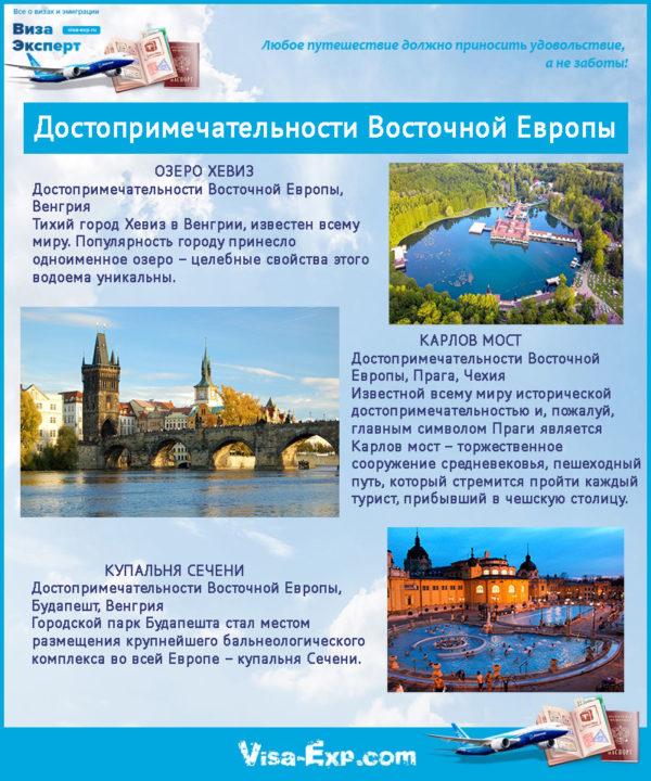 Достопримечательности Восточной Европы