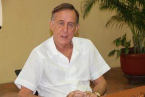 Генконсул Испании г-н Хуан Антонио Мартинес-Каттанео и Гингстон